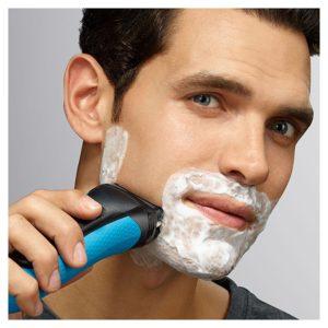 afeitarse barba prolija