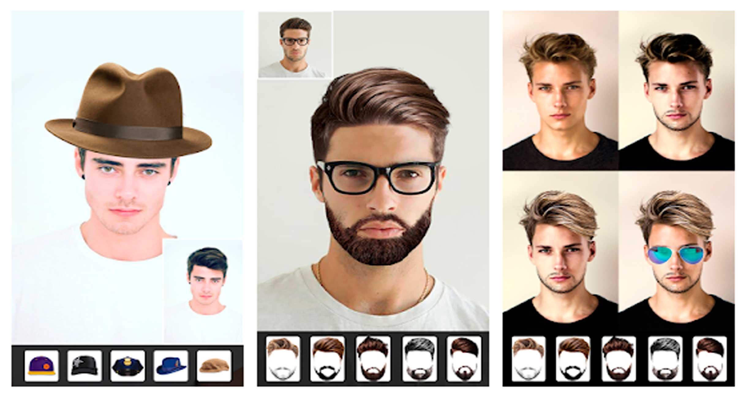 apps para verte con barba